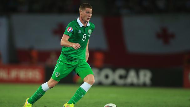 James McCarthy is set to start next Saturday's crucial qualifier against Scotland