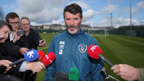 Republic of Ireland assistant manager Roy Keane is looking to the future