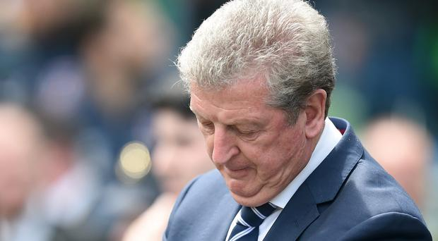 England manager Roy Hodgson was disappointed with his team's display in Dublin