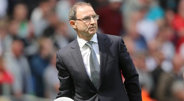 Republic of Ireland manager Martin O'Neill is keeping his own counsel