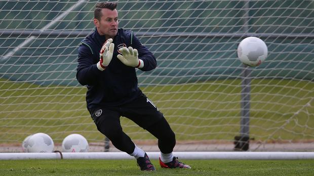 Republic of Ireland keeper Shay Given is hoping for a moment of magic against Scotland