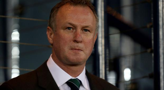 Michael O'Neill, pictured, has had his work praised by former Northern Ireland international Paul McVeigh