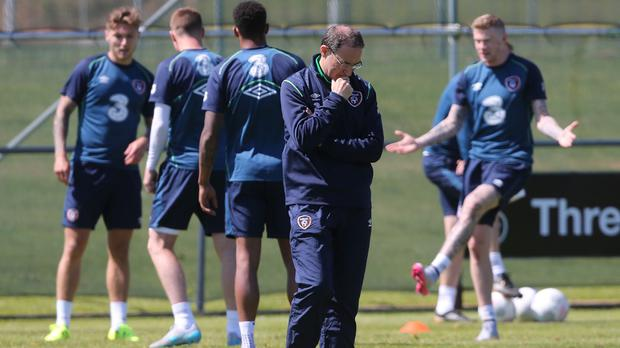 Republic of Ireland manager Martin O'Neill has urged his players not to leave themselves a mountain to climb