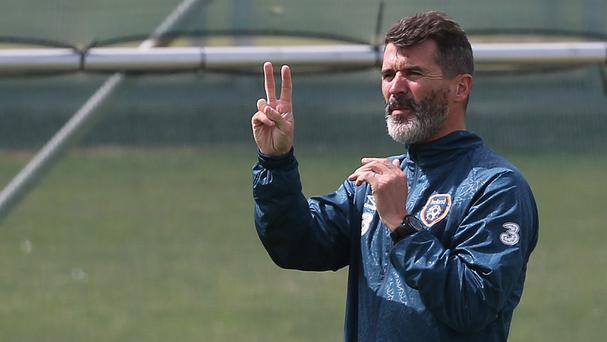 Roy Keane, pictured, is confident striker Robbie Keane will not let his country down