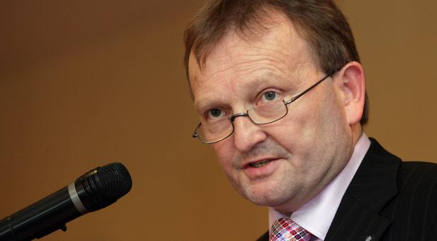 Controversial: David Martin is favourite to be next president