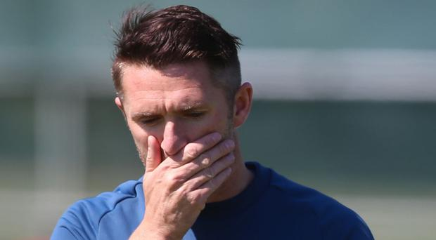 Robbie Keane feels luck was on Scotland's side
