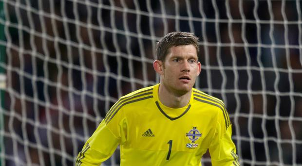 Hamilton goalkeeper Michael McGovern has his sights set on becoming Northern Ireland number one