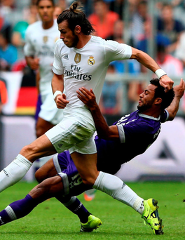 Gareth Bale is content with life at Real
