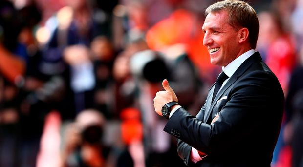 Thumbs up: Brendan Rodgers needs his new recruits to deliver