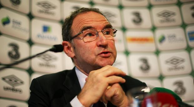 Republic of Ireland manager Martin O'Neill (pictured) has begun preparations for the Euro 2016 qualifiers against Gibraltar and Georgia