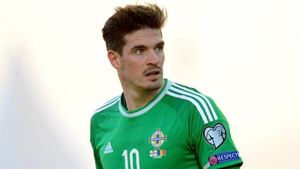 Kyle Lafferty has scored five goals in Northern Ireland's qualifying games