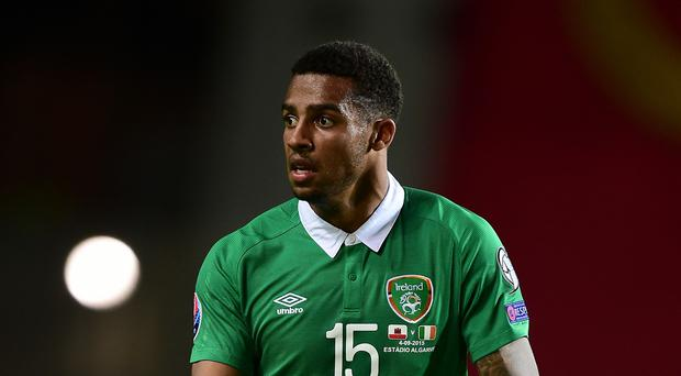 Cyrus Christie, pictured, did not lose any sleep over his competitive debut for the Republic of Ireland