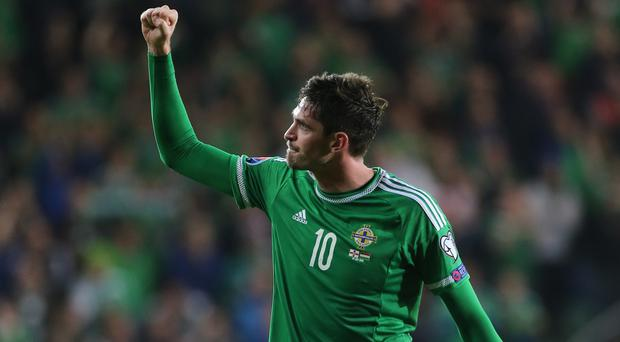 Kyle Lafferty scored the equaliser for Northern Ireland