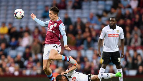 Jack Grealish, left, has kept both the Republic of Ireland and England waiting for an answer