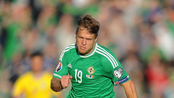 Jamie Ward is back for Northern Ireland's crucial games against Greece and Finland