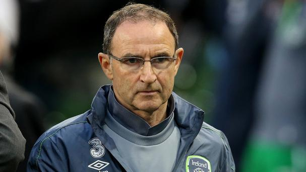 Republic of Ireland manager Martin O'Neill now has a 27-man squad