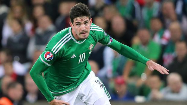 Kyle Lafferty has become a key player for Northern Ireland