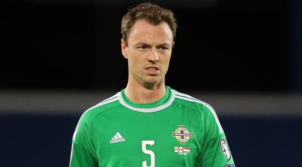 Jonny Evans is struggling with a hamstring injury