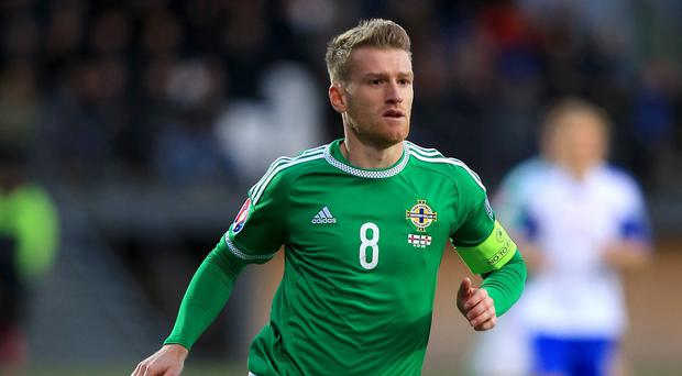 Steven Davis will lead out Northern Ireland for a date with destiny