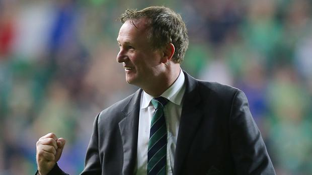 Northern Ireland manager Michael O'Neill was understandably elated with his side's achievement
