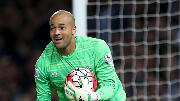 Darren Randolph impressed for the Republic against Germany