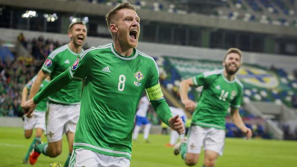 Northern Ireland captain Steven Davis is due to join an exclusive club in France next summer