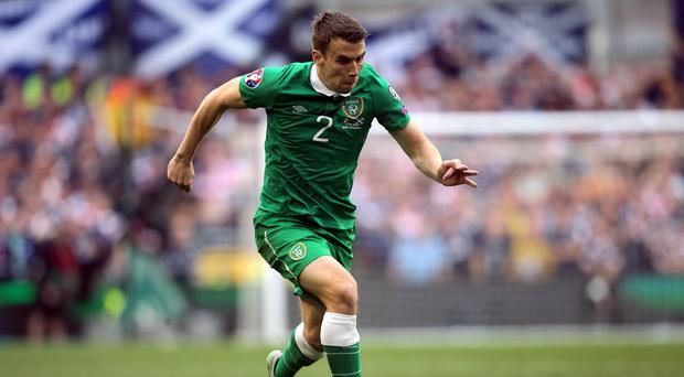 Seamus Coleman and the Republic of Ireland missed out on automatic qualification