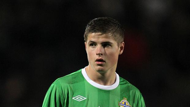 Josh Doherty's goal was not enough to save Northern Ireland Under-21s from defeat