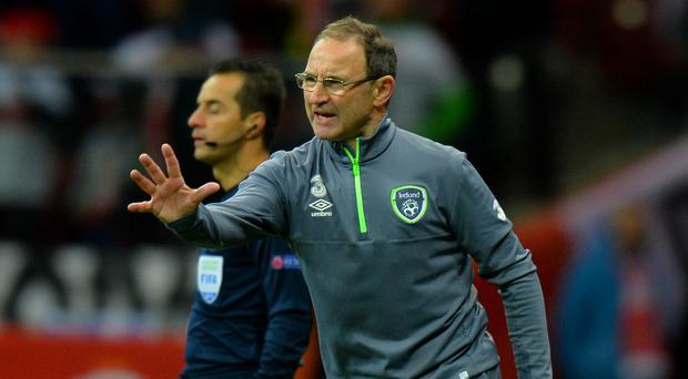 Martin O'Neill's Republic of Ireland side face Bosnia-Herzegovina in next month's two-legged Euro 2016 play-off