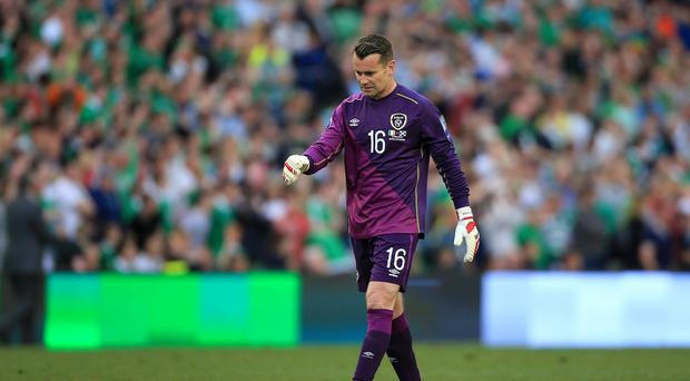 Shay Given could miss the Republic of Ireland's Euro 2016 play-off against Bosnia