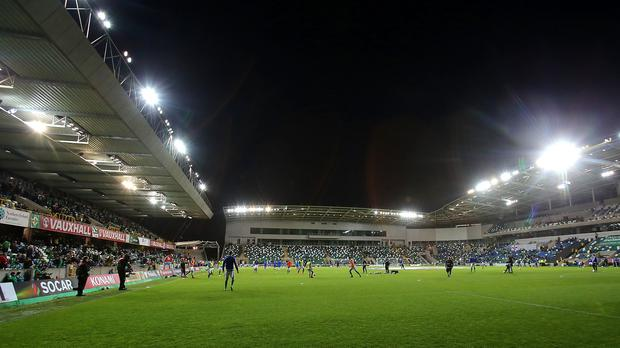Work is being done to Windsor Park