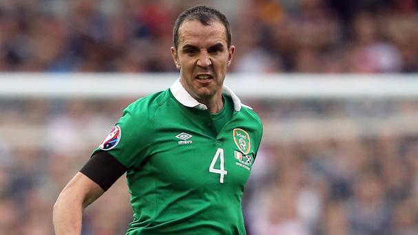John O'Shea is facing a race against time to be fit for the Republic of Ireland's Euro 2016 play-off