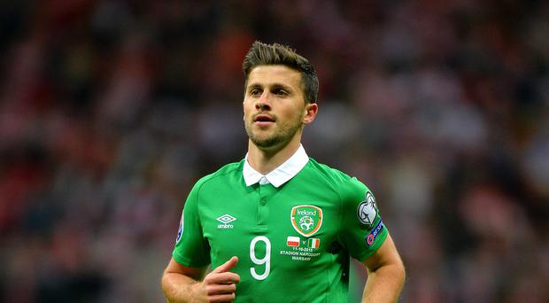 Shane Long is out of the Republic of Ireland's Euro 2016 play-off opener against Bosnia-Herzegovina