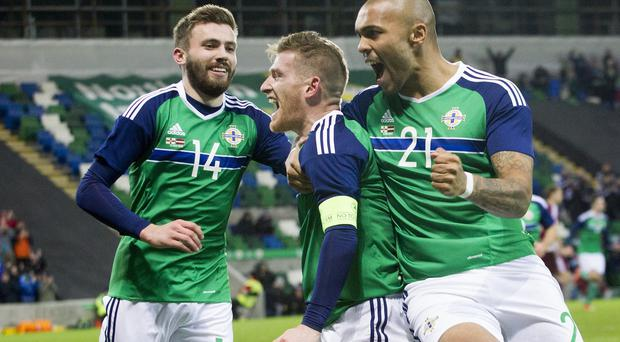 Steven Davis grabbed the only goal of the game to record Northern Ireland's first friendly win since March 2008