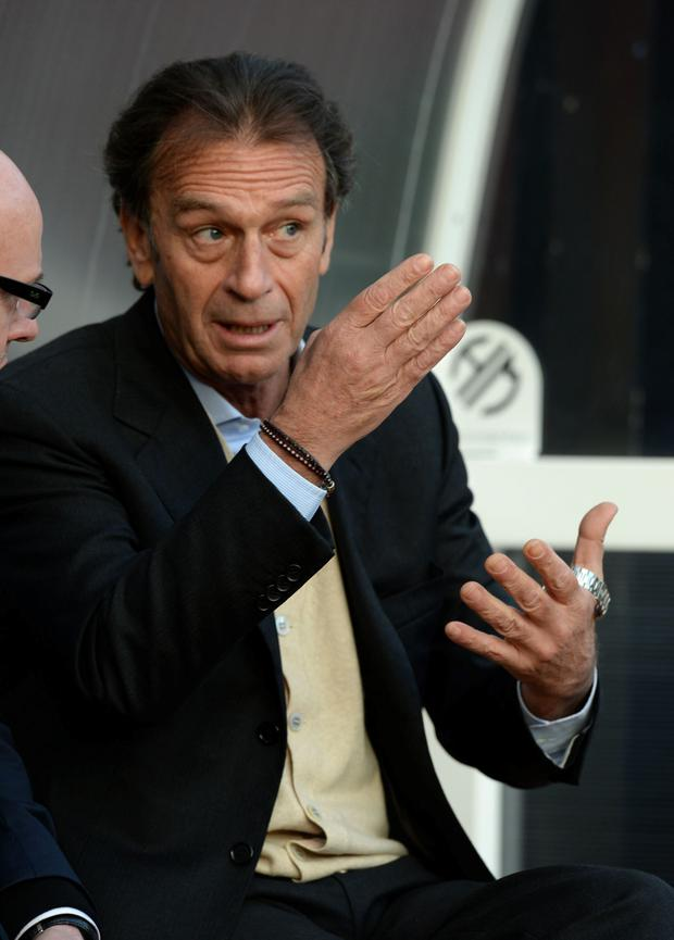 Main man: Leeds United supremo Massino Cellino