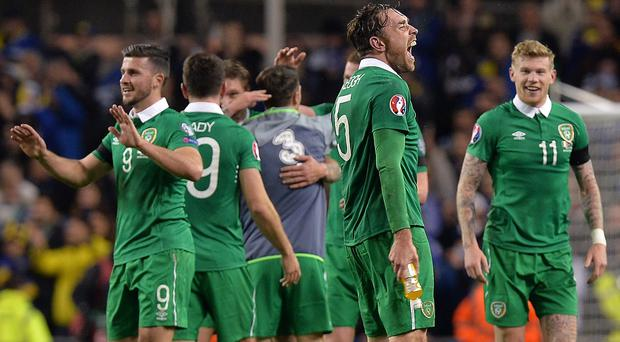 The Republic of Ireland have moved up to 31st in the rankings