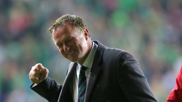 Northern Ireland manager Michael O'Neill would love to draw France in the Euro 2016 group stage