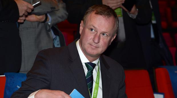 Michael O'Neill's Northern Ireland were pitted in a group with Germany, Poland and Ukraine