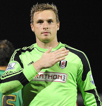 Brighton goalkeeper David Stockdale