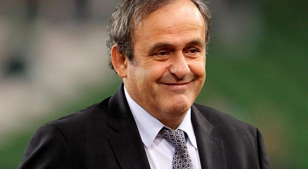 Out: Michel Platini has formally withdrawn his candidacy for the Fifa presidency