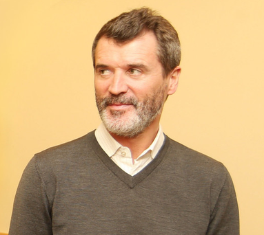 Former Manchester United player Roy Keane