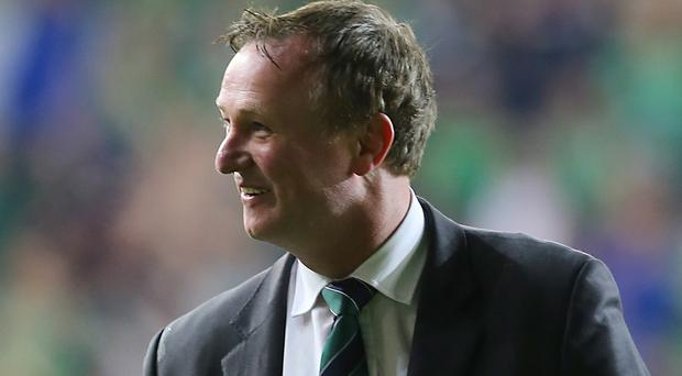 Michael O'Neill's Northern Ireland will play Slovakia on June 4
