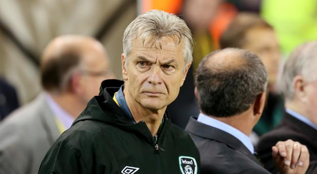 Dutchman Ruud Dokter is to stay on as the Football Association of Ireland's high performance director