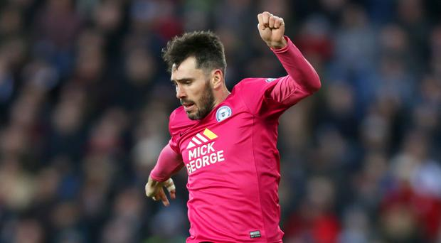 Peterborough's Michael Smith has received a Northern Ireland call-up