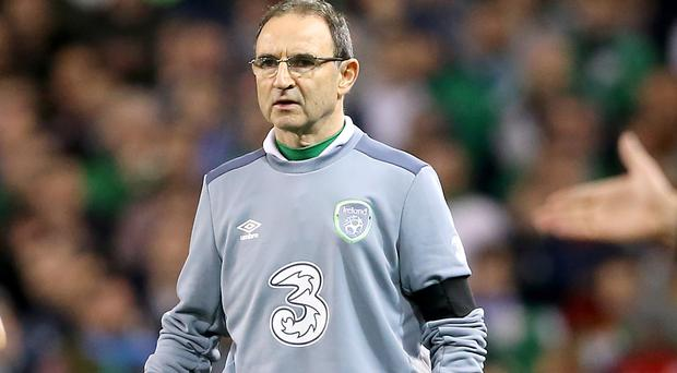 Republic of Ireland manager Martin O'Neill addressed the media in Dublin on Thursday