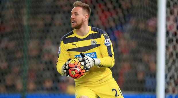 Rob Elliot could start against Slovakia