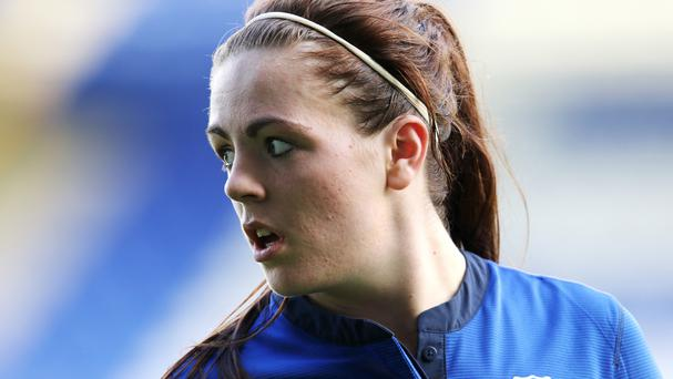 Simone Magill gave Northern Ireland a surprise lead just after the hour-mark