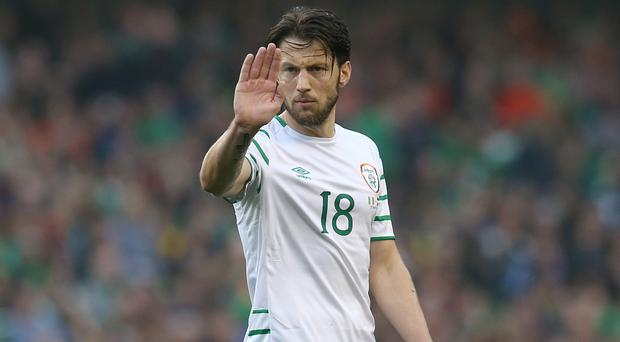 Republic of Ireland assistant manager Roy Keane is confident Harry Arter, pictured, has a bright international future