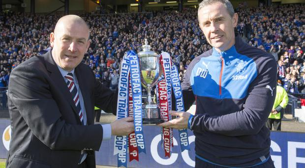 Rangers could be passing the Challenge Cup over to a team from outside Scotland