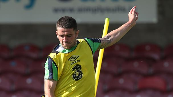 Robbie Brady is happy to take on responsibility for the Republic of Ireland's set-pieces
